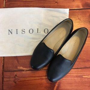 Nisolo Smoking Shoe - black leather